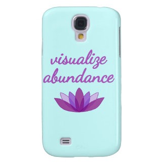 Visualize Abundance with Lotus Samsung Galaxy S4 Cases