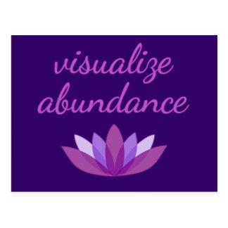 Visualize Abundance with Lotus Postcard