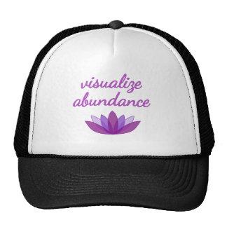Visualize Abundance with Lotus Trucker Hat