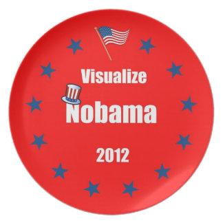 Visualize Nobama 2012 Dinner Plate