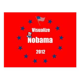 Visualize Nobama 2012 Postcard