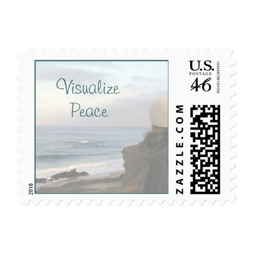 Visualize Peace Stamp