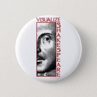 Visualize Shakespeare Pinback Button