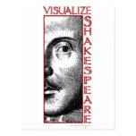 Visualize Shakespeare Postcard