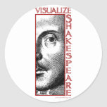Visualize Shakespeare Stickers