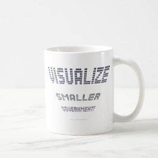 Visualize Smaller Government! Classic White Coffee Mug