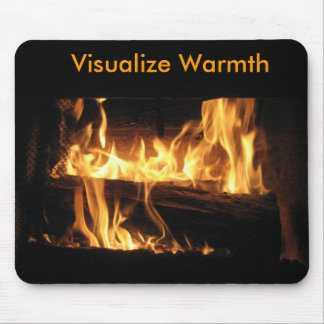 Visualize Warmth mousepad