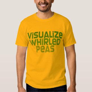 Visualize Whirled Peas Tshirts