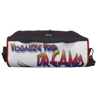 Visualize Your Dreams Over come fear and achieve Bags For Laptop