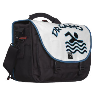 Visualize Your Dreams Swimmer Commuter Bags