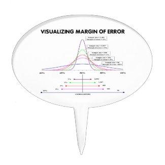 Visualizing Margin Of Error Cake Toppers