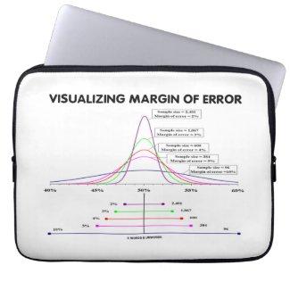 Visualizing Margin Of Error Laptop Computer Sleeve