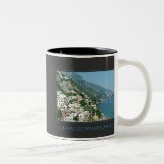 Visualizo lo que quiero la taza