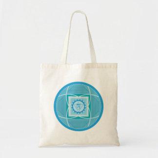 Visuddha Chakra Mandala Canvas Bags