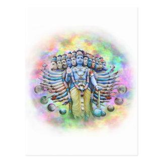 Viswarupa - the Universal Form Postcard