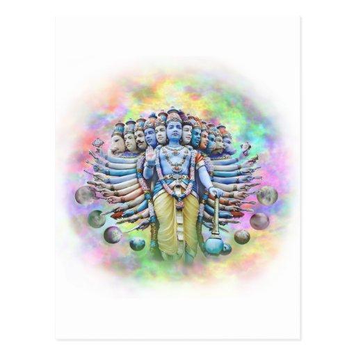 Viswarupa - the Universal Form Postcards