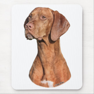 Viszla head mouse pad
