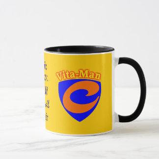 Vita-Man Super Vitamin C Mug Cure-all Elixir Cures