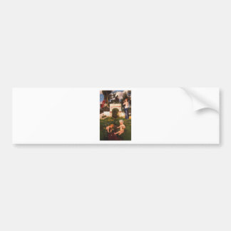 Vita somnium breve by Arnold Böcklin Bumper Sticker