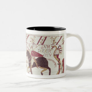Vital informs King Harold Two-Tone Coffee Mug