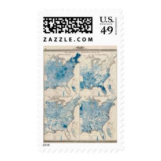 Vital statistics, United Census Postage Stamps