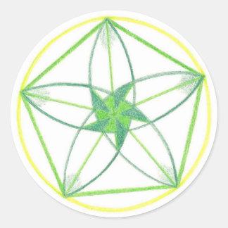 Vitality Mandala 2 Sticker