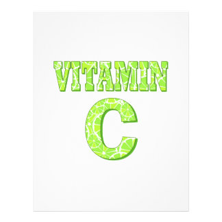 Vitamin C Personalized Flyer