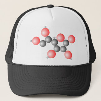 Vitamin C Molecule Trucker Hat
