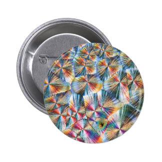 Vitamin C under the microscope 2 Inch Round Button