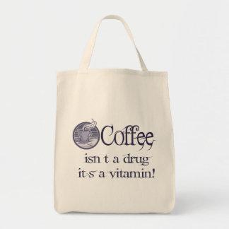 Vitamin Coffee Canvas Bags
