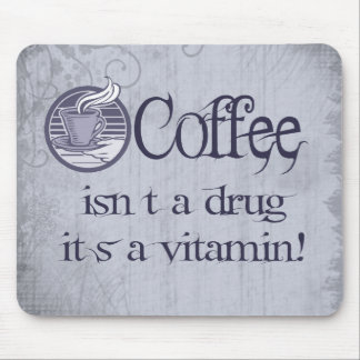 Vitamin Coffee Mouse Pad