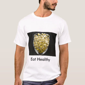 Vitamin E, Eat Healthy T-Shirt