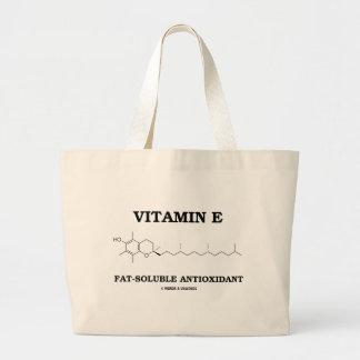 Vitamin E Fat-Soluble Antioxidant (Molecule) Tote Bags