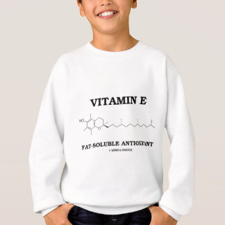 Vitamin E Fat-Soluble Antioxidant (Molecule) Sweatshirt