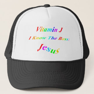 Vitamin J Trucker Hat