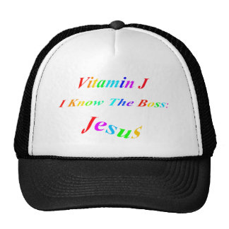 Vitamin J Trucker Hat