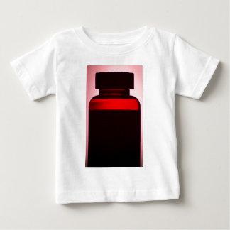 Vitamin pill bottle silhouette photograph tee shirt