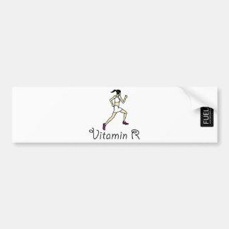 Vitamin R Bumper Sticker