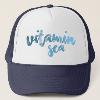 """Vitamin Sea"" Trucker hat"
