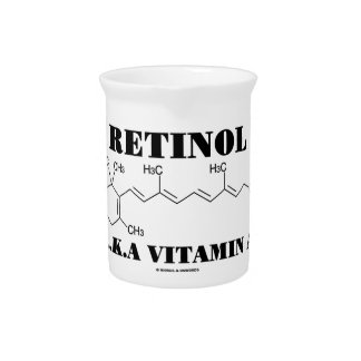 Vitamina A del retinol A K A molécula del retino Jarron