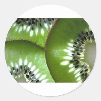 Vitamina C Pegatina Redonda