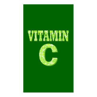 Vitamina C Plantilla De Tarjeta De Visita