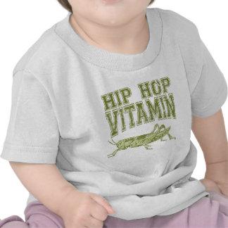 Vitamina de Hip Hop Camiseta