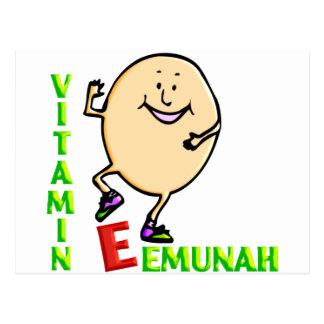 Vitamina E Tarjeta Postal