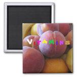Vitamines fruit magnet