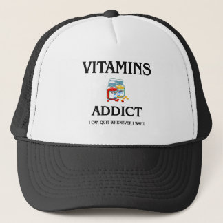 Vitamins Addict Trucker Hat