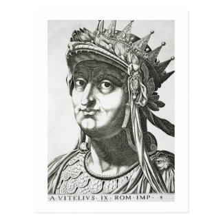 Vitellius (15-69 AD), 1596 (engraving) Postcard
