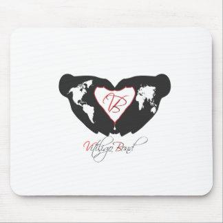 Vitiligo Bond Awareness Line Mouse Pad