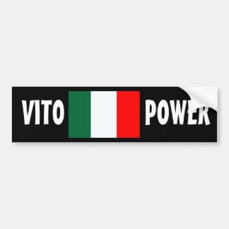 """""""VITO POWER"""" Bumper Sticker"""