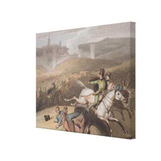 Vitoria, el 21 de junio de 1813, 'de las victorias impresión en lona